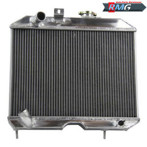 Aluminum Radiator For 1941 1952 Jeep Willy s M38 Cj 2a mb 42 43 44 45 46 47 50