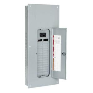 Square d Homeline 100 amp 30 space 60 circuit Indoor Main breaker Panel Box Load