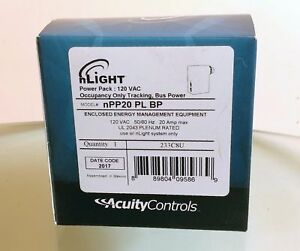 Nlight Npp20 Pl Bp Occupancy Only Tracking Sensor switch Bus Power New