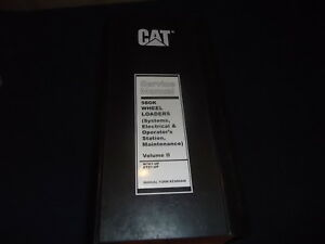 Cat Caterpillar 980k Wheel Loader Service Shop Repair Book Manual Vol 2