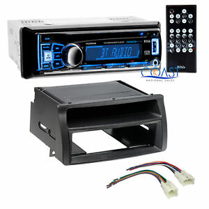 Boss Car Stereo Single Din Bluetooth Dash Kit Harness For Toyota Corolla 03 08