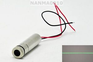 1245 Focusable 515nm 520nm 30mw Grass Green Line Beam Laser Diode Module Dc3v