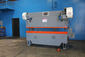 35 Ton X 8 Heim Power Press Brake Sheet Metal Bender Former