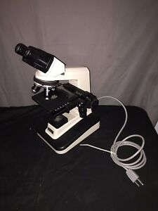 Nikon Alphaphot Ys2t Specimen Microscope W Eyepieces 4 Objectives And Condenser