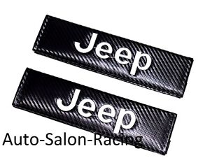 New 2pcs Jeep Racing Car Seat Belt Cover Pads Shoulder Cushion For Jeep Wrangler
