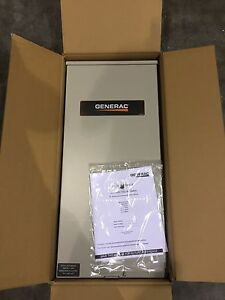 New Generac Rxsw200a3 Rtsw200a3 Transfer Switch free Same Day Shipping