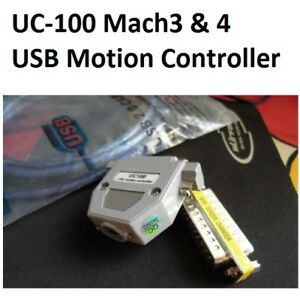 Uc100 Motion Controller Usb To Parallel D25 Adapter Router Engraver Cnc Mach3