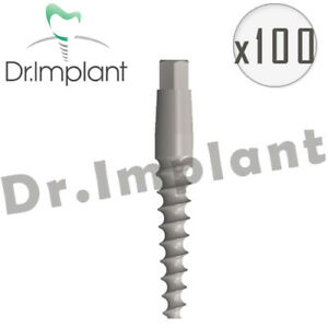 100 One piece Implant Internal Hex Dental Compat With Alpha Bio Biohorizons