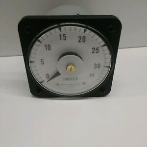 Guaranteed Good Used Ge Panel Mount 0 34 Inches Meter Db40
