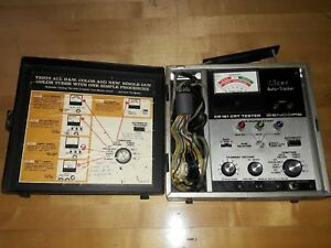 Sencore Cr161 Tube Tester Crt Cathode Ray