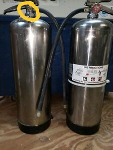 Water Fire Extinguisher 2 5 Gal w hydro Test Wow Look At All The Xtras