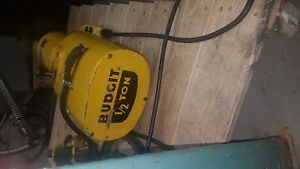 Budgit 1 2 Ton Electric Hoist With Trolley