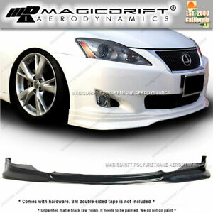 For 2006 2008 Lexus Is250 Is350 F Sport Style Front Bumper Chin Spoiler Lip