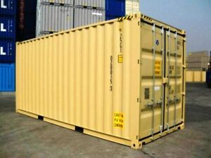 New One Trip 20 Container