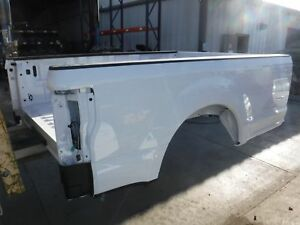 2017 Ford F250 Sd Pickup Take Off 8 Foot Truck Bed Box Oxford White