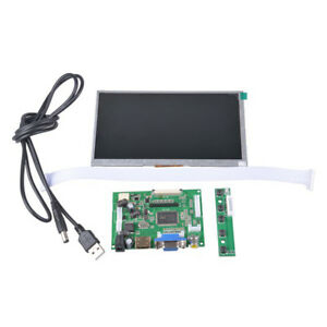 7 Inch Lcd Display Screen Diy Kit Hd Led 800x480 For Raspberry Pi