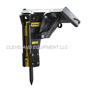 Stanley Hydraulic Concrete Breaker Attachment Bobcat X change Excavator Mount