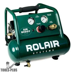 Rolair Ab5 1 2 Hp Air Buddy Super Quiet Oil less Air Compressor New
