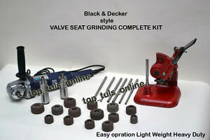 Black Decker Style Valve Seat Grinding Complete Kit High Speed Grinder 220v 50