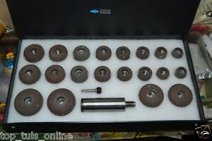 Sioux Valve Seat Grinding Wheels Set Of 20 Pcs Stone Holder Star Drive 11 16