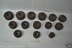 All Grey Sioux Valve Seat Grinder Stones 20 Pcs Sharp Cut Abrasive