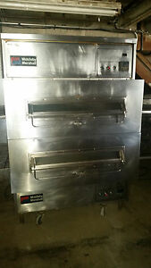 Middleby Marshall Ps360wb Double Stack Pizza Conveyor Ovens Natural Gas Tested