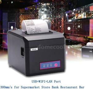 Durable Pos Dot Receipt Paper Barcode Thermal Printer Usb wifi lan 300mm s D3n7
