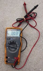 Fluke 77 Iii 3 Multimeter With Leads Free Shipping
