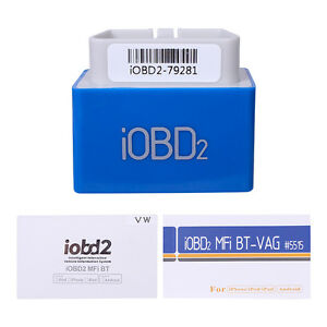 Xtool Iobd2 Mfi Bt Diagnostic Tool Bluetooth Ios Android For Vw Audi Skoda Seat