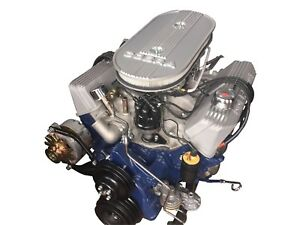 1967 Shelby Gt500 428pi Engine 50th Anniversary Makeover