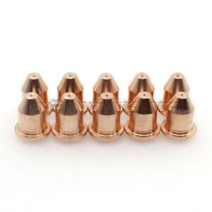 10pc Plasma Cutter Torch Nozzles Tip 770496 For Hobart 250ci 500i Hp 25 Hp 50