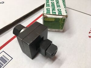 Nos Greenlee 5 8 Square Conduit Knockout Punch 5446a