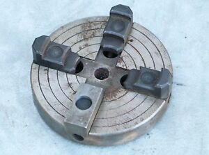 4 Jaw Chuck 6 Craftsman Atlas Logan Lathe Machine Shop Machinist Metalworks