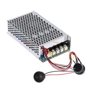 10 30v 100a 3000w Dc Motor Adjustable Speed Controller Pwm Control Us Q2e5