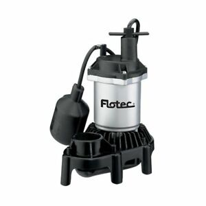 Flotec Fpzs25t Submersible Thermoplastic Sump Pump 1 4 Hp