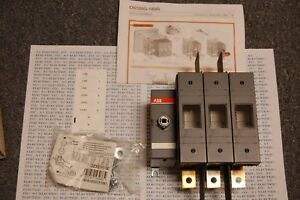 Abb Disconnect Switch Os 100j03 600vac 100a