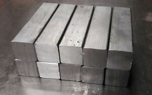 A36 Steel Square Bar Stock 1 X 4 Blacksmiths Projects 10 Pieces