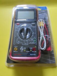 Cen tech Digital Multimeter W Temperature Measurement For Repairing Tv Boards