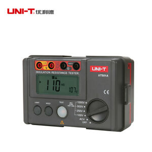 Details About Uni t Ut501a 1000v Insulation Resistance Meter Ground Tester Meg