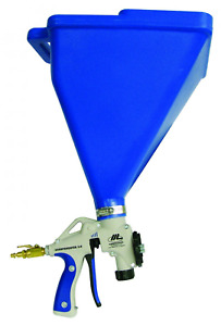 Air Hopper Spray Gun Paint Texture Tool Drywall Construction Ceiling Sprayer New