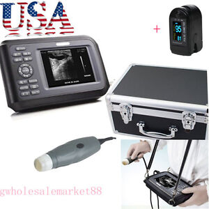 Us Handheld Veterinary Vet Pet Ultrasound Scanner Machine 3 5m Probe Livestock