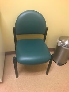 Medical Exam Room Side Chair Ritter Green