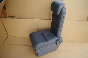 05 10 Honda Odyssey Oem 2nd Rear Row Middle Plus One Jump Seat Gray Grey Leather