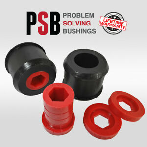 Mini Cooper 00 15 Front Lower Control Arm Wishbone Poly Bushing Kit Red Psb 640