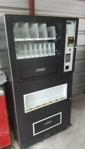 1 Genesis Go 127 Combo Beverage And Snack Vending Machine Local Pick Up
