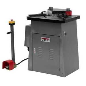 Jet 754410 Hydraulic Sheet Metal Notcher New