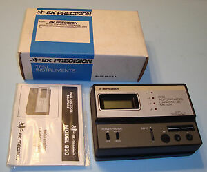Bk Precision Model 830 Autoranging Capacitance Meter Range 200pf To 20uf New