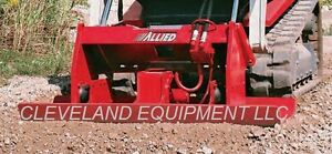 Allied Skid pac 1000b Vibratory Compactor Attachment Cat Skidsteer Loader Ho pac