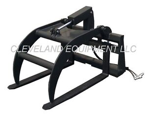 New Pallet Fork Log Grapple Skid steer Track Loader Tractor Attachment Bobcat