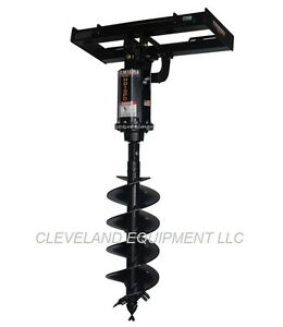 New Premier H019 Hydraulic Auger Drive Attachment Skid steer Track Loader Bobcat